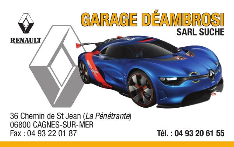 Garage deambrosi sarl suche centre carbon cleaning for Garage mecanique cagnes sur mer